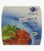 Delphi  Red Pepper & Feta Dip With Olive Oil