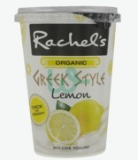 Rachel's Greek Style Organic Bio-live Lemon Yogurt