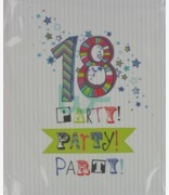 Carlton Cards 18 Party Party Party