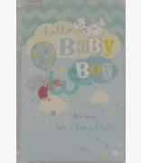 Carlton Cards Hello Baby Boy
