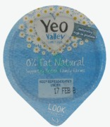 Yeo Valley 0% Fat Natural Yoghurt