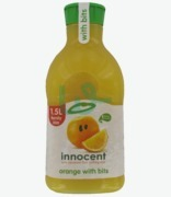 Innocent Orange With Bits