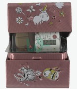 BBB Gift Tin And Watch Despicable Fluffy