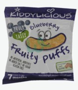 Kiddlylicious Blueberry Fruity Puffs