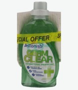 Astonish Germ Clear Antibacterial Disinfectant + Floor Cloth Free