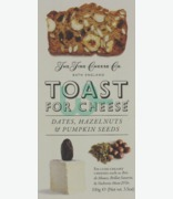 The fine Cheese Co Toast For Cheese Dates, Hazelnuts & Pumpkin Seeds