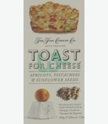 The fine Cheese Co Toast For Cheese Apricots, Pistachios & Sunflower Seeds