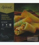 Fuisine Oriental Vegetable Spring Rolls