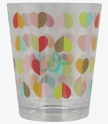 Beau & Elliot Heart Confetti Tumbler Glass