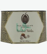 Bean & Pod Milk Chocolate Coated Hazelnut Pebbles