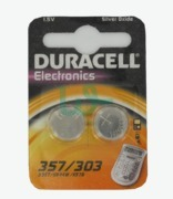 Duracell Electronics Batteries 357/303
