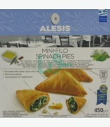 Alesis Filo Twist Pies Spin & Feta Cheese