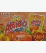 Amigo Peach Juice ( Multipack) Only €1.99