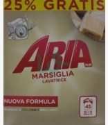 Aria Plus Laundry Powder Active Marsiglia 25% Free 45w