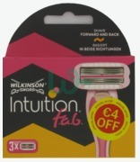 Wilkinson Sword Intuition Fabulous Cartridges