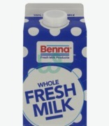 Benna Milk Whole 3.5% Fat