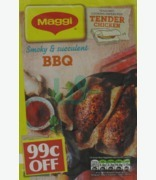 Maggi Bbq Cooking Papers For Chicken 99c Off