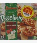 Buitoni Piccolinis Bolognese 50c Off