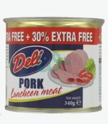 Deli Pork Luncheon Meat With 30% Extra Free