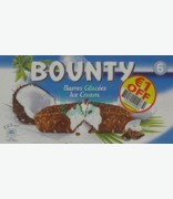 Bounty Ice Bar Multipack (6 Pack) €1 Off