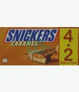 Snickers Caramel Ice-bar 6 Pack 4+2 Bars Free