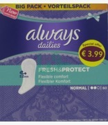 Always Dailies Fresh & Protect Pantyliner Normal
