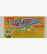 Trendi Flat Freezer And Lunch Bags 7x9 Cm