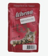 Athena Beef & Poultry In Sauce Cat Food