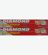 Diamond Wax Paper Twin Pack 23m X 302mm