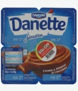 Danone Danette Sensation Cream & Chocolate Mousse