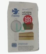 Doves Farm Self Raising White Flour 50c Off ( G. F. S)