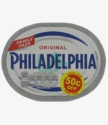 Philadelphia Original Full Fat Soft Cheese 50c Off