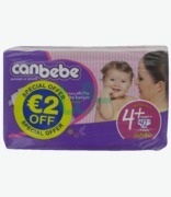 Canbebe Nap Maxiplus N4 €2 Off 42pk