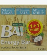 Bakalland 5 Coconut & Chia Seeds 1 + 1 Free