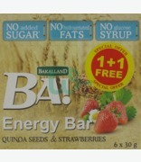 Bakalland 5 Quinoa Seeds & Strawberries 1 + 1 Free