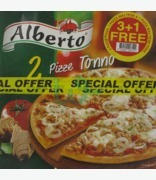 Alberto Tuna & Maltese Pizza Value Pack 3+1 Free