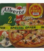 Alberto  Capricciosa, & Maltese Pizza Value Pack 3+1 Free