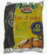 Aia Fusi Di Pollo Drumsticks €2 Off