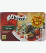 Alberto Cannelloni Spinaci 50c Off