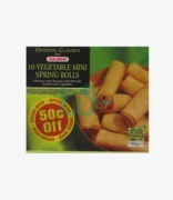 Daloon 10 Vegetable Mini Spring Rolls .50c Off