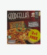 Goodfella's Deep Pan Bacon & Mushroom Pizza