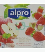 Alpro Yofu Strawberry And Apple