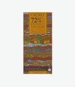Cachet 72% Dark Organic Chocolate Almonds