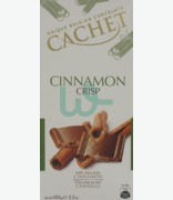 Cachet Cinnamon Crisp Milk Chocolate