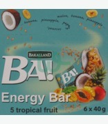 Bakalland Ba! 5 Tropical Fruit Energy Bar