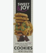 SWEET & JOY Dark Milk Chocolate Cookies