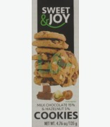 SWEET & JOY Milk Chocolate & Hazelnut Cookies