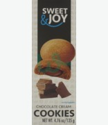 SWEET & JOY Chocolate Cream Cookies