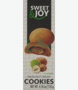 SWEET & JOY Hazelnut Cream Cookies