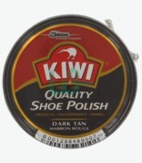 Kiwi Marron Rouge Dark Tan Shoe Polish